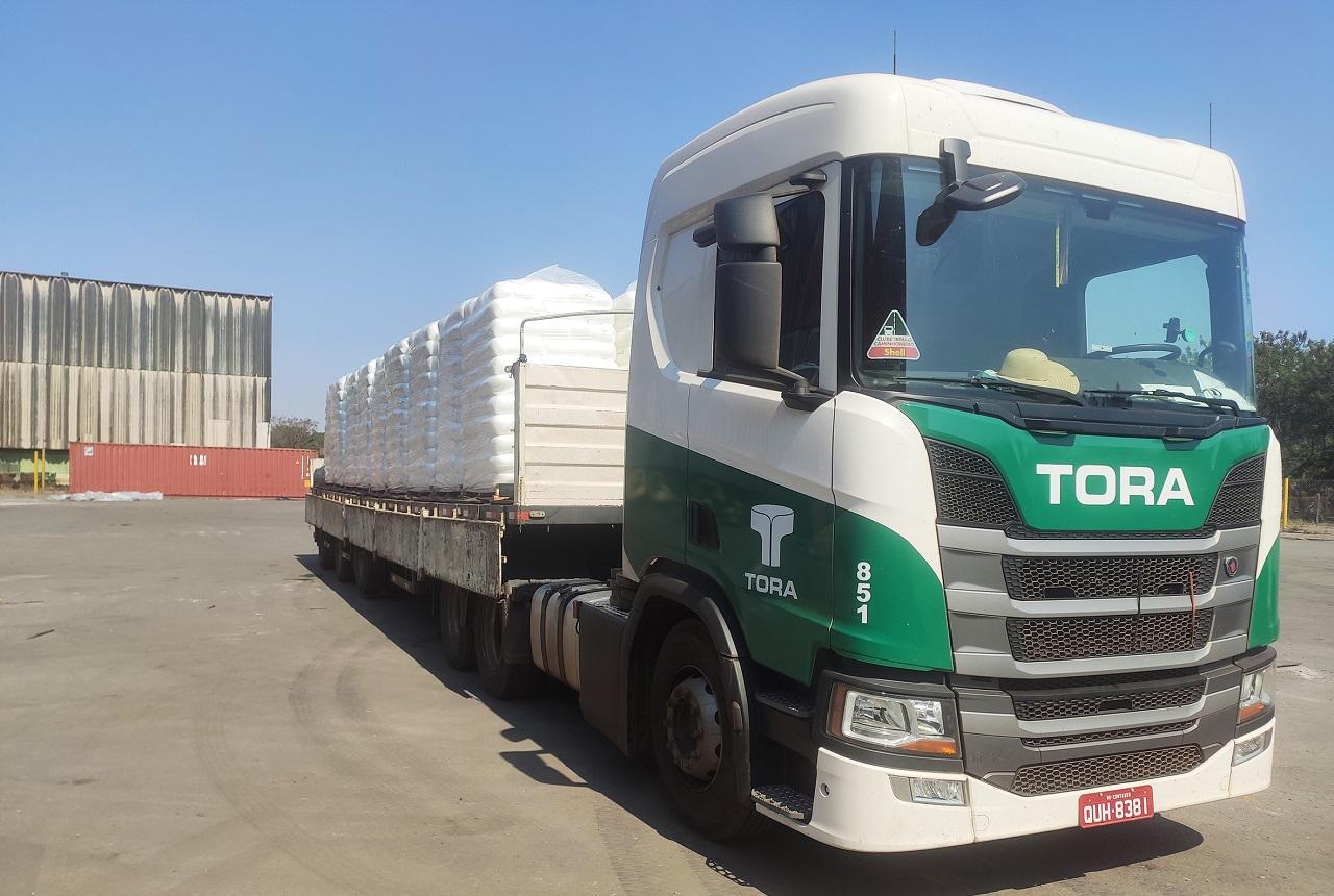 Tora Pecém Ceará Logística Caminhão