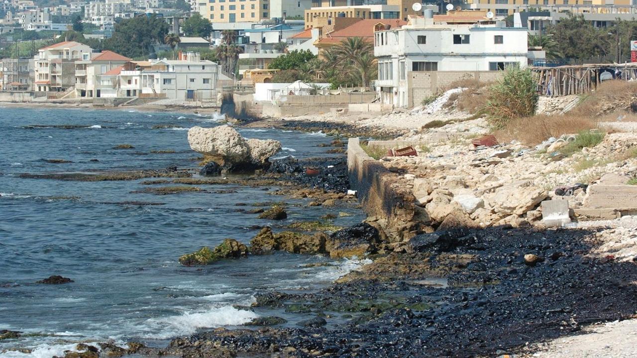 petróleo - israel - Oil Spill