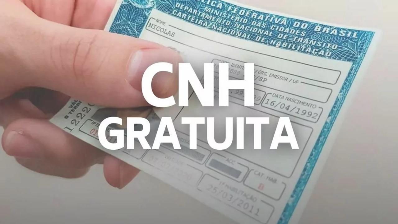 CNH - DETRAN - DF - grátis - vagas
