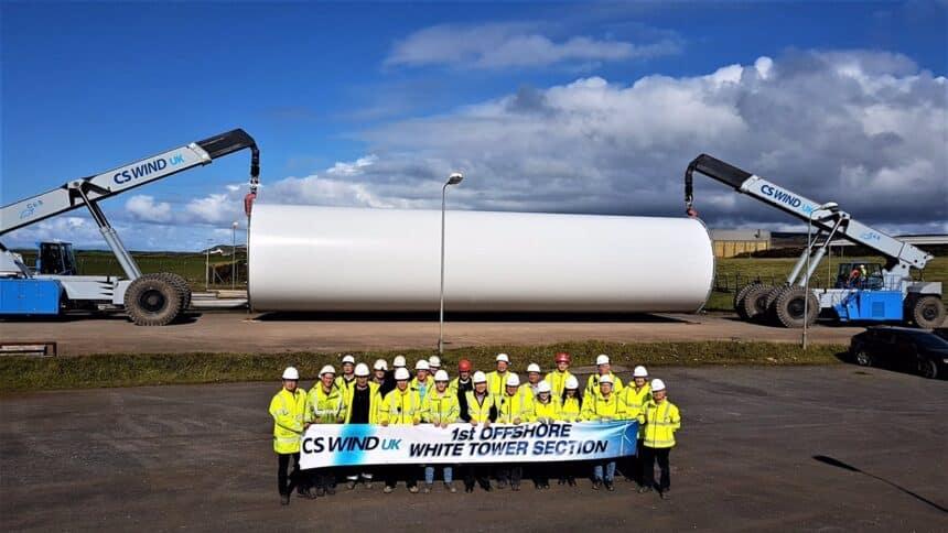eólicas - CS Wind - torres - fábricas - vagas