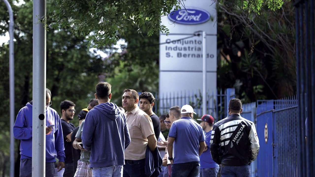 empregos - ford fábrica - ABC Paulista - SP - vagas