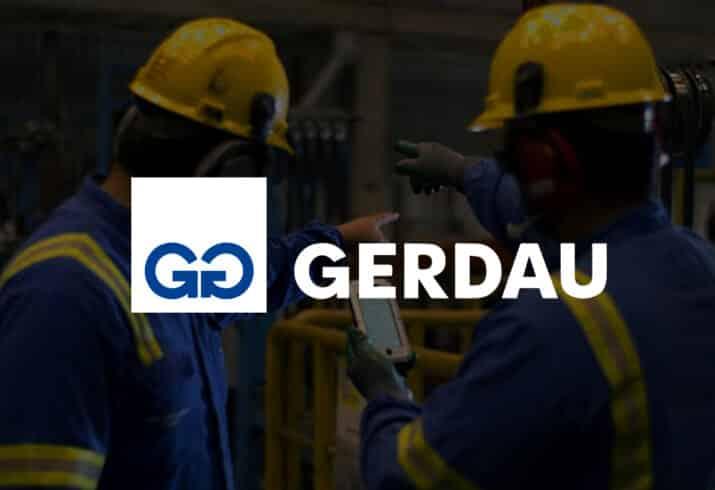 Gerdau - aço - produção