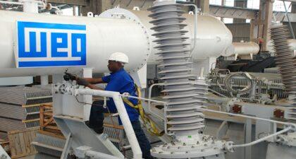 WEG - mineração - ouro - motor - rússia