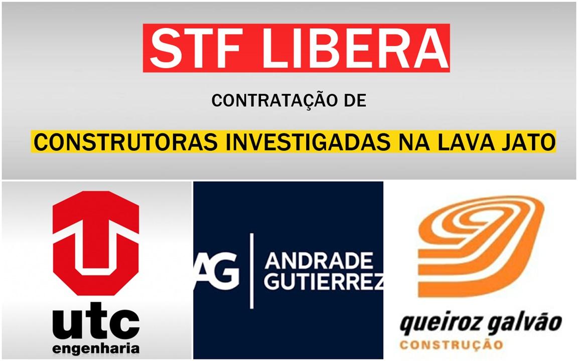 Andrade Gutierrez - Artec - UTC Engenharia - Queiroz Galvão - obras - construtora - vagas - emprego - stf