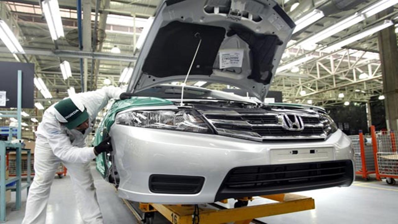 Honda - Chevrolet - fábrica - vagas - produção