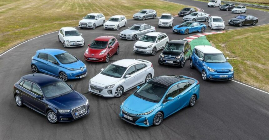 Automóveis, carros elétricos, energia renovável