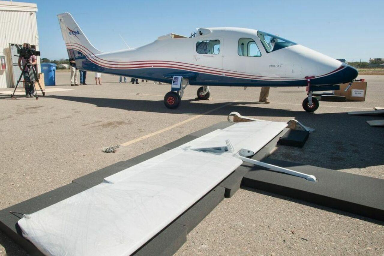 Avião elétrico - NASA