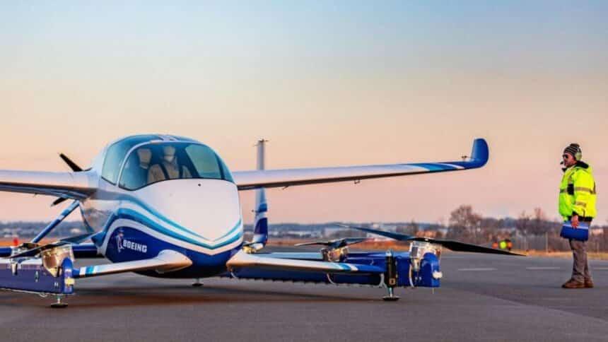 Carro voador - Embraer - Táxi elétrico