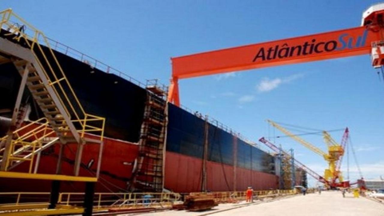 pernambuco - construção naval - estaleiro - vagas - recuperação judicial - falência