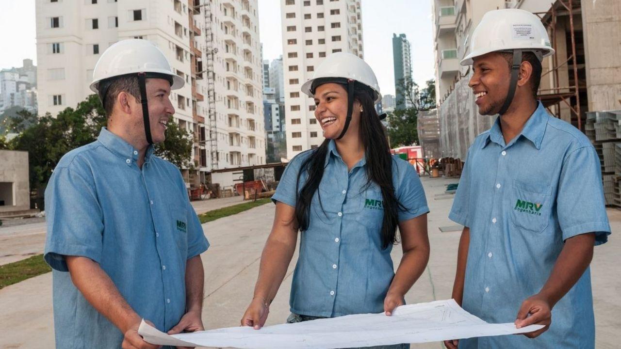 MRV - estágio - construtora civil