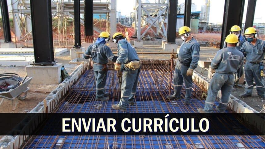 construção civil - emprego - vagas - Vale - ajudante - ensino fundamental - obras - MG