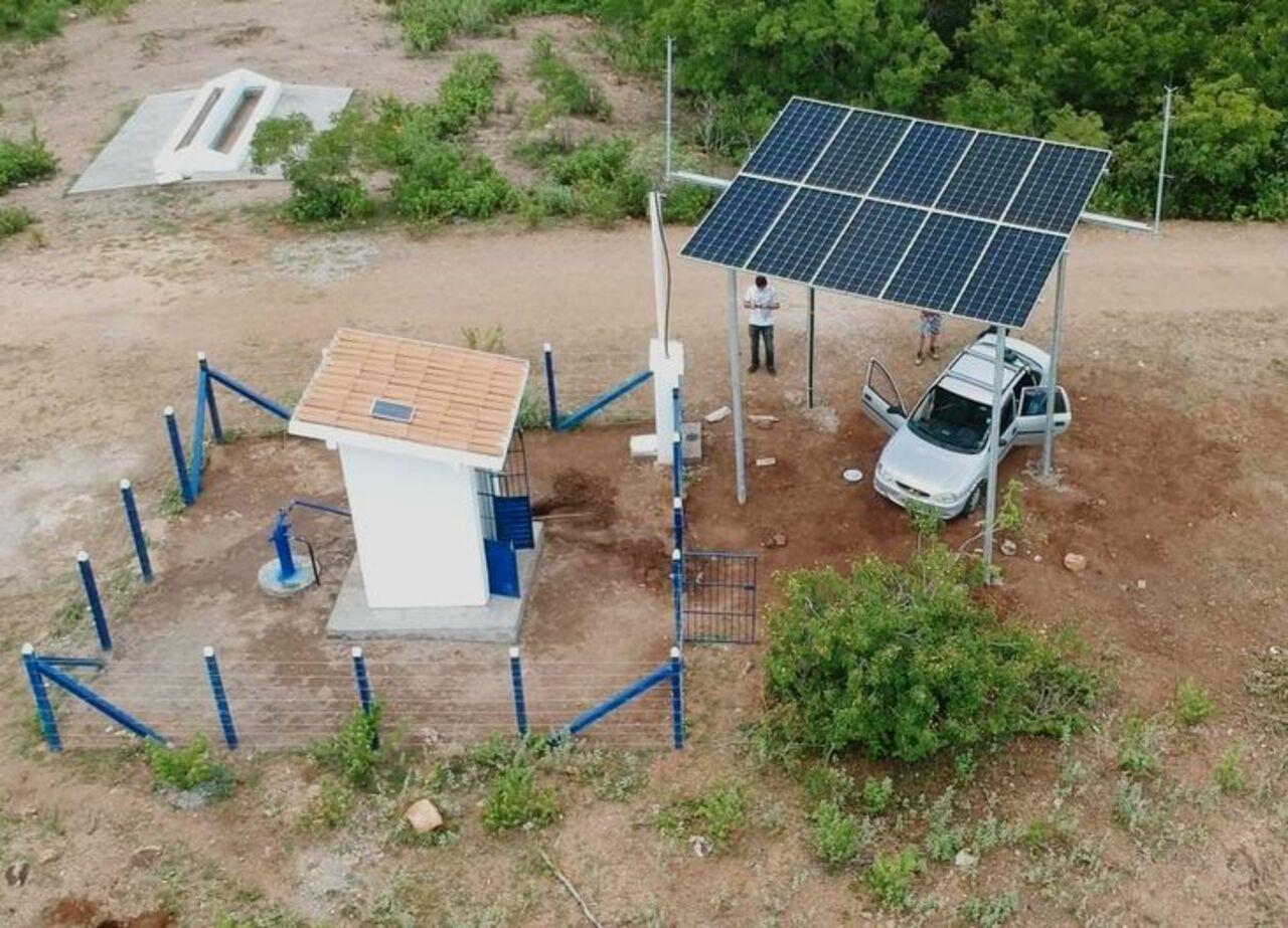 Energia solar - diesel - agronegócio