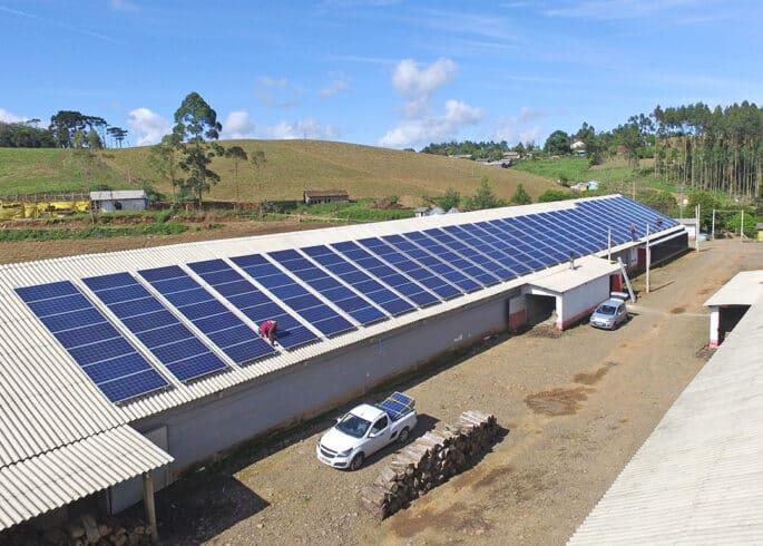 BRF, energia solar, Santa Catarina