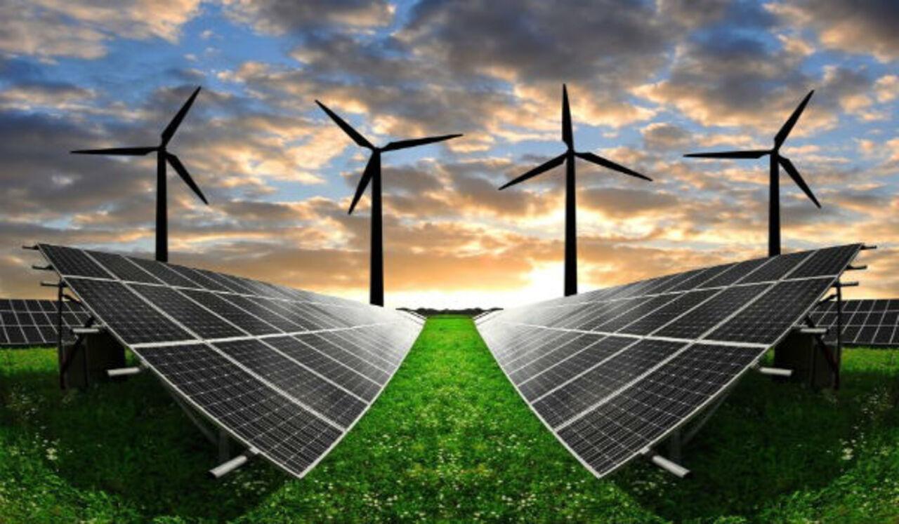 Energias renováveis, energia eólica, solar e biomassa