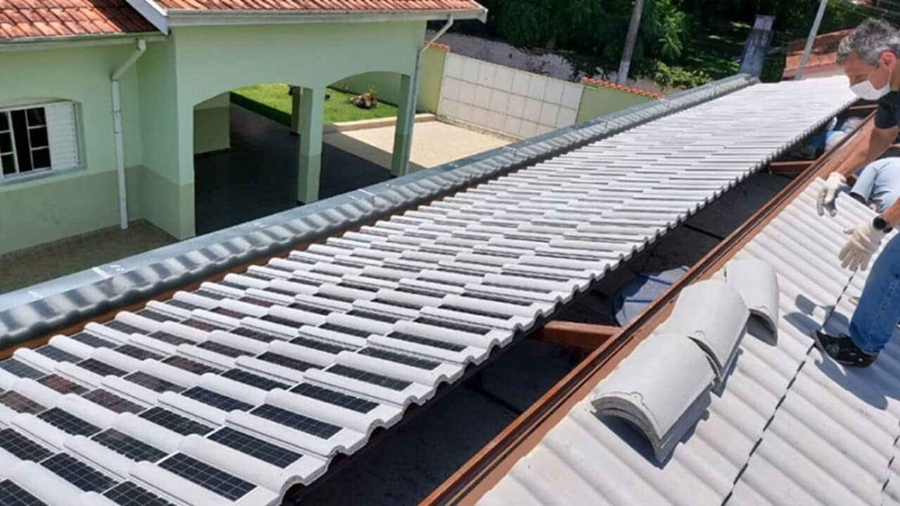 Telhas solares - Eternit - Renovável