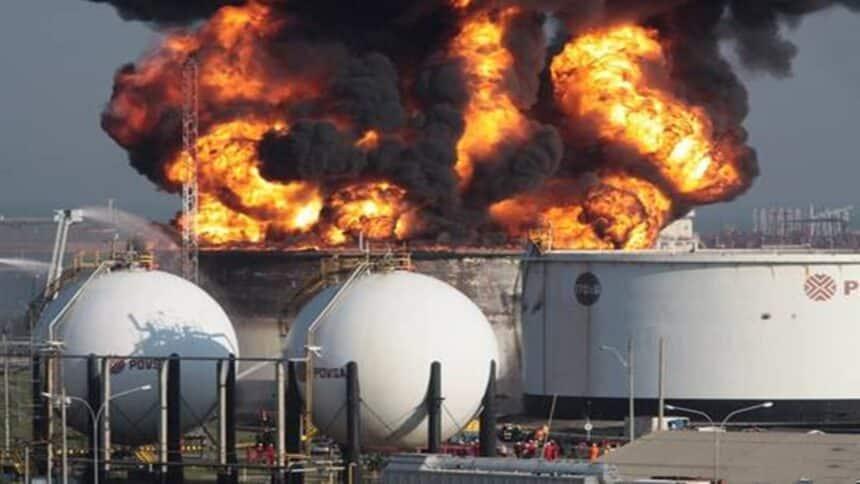 venezuela - ataque terrorista - gasoduto - petróleo - gás natural -