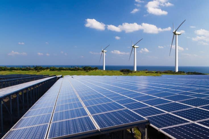 Energia eólica, solar, energia