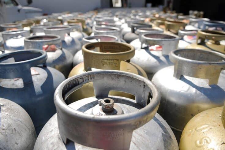 Governo do estado - Ceará - Botijões de gás