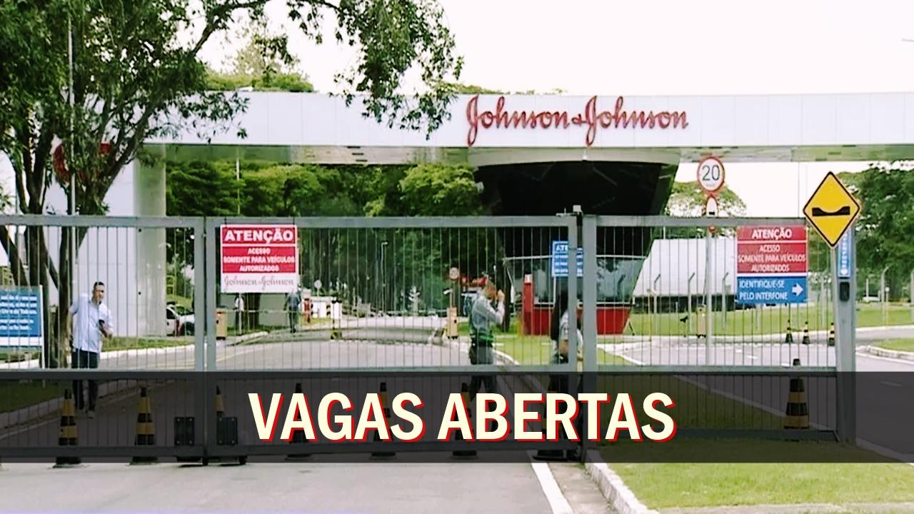 Johnson & Johnson - emprego - vagas - são paulo - trainee - sem experiência