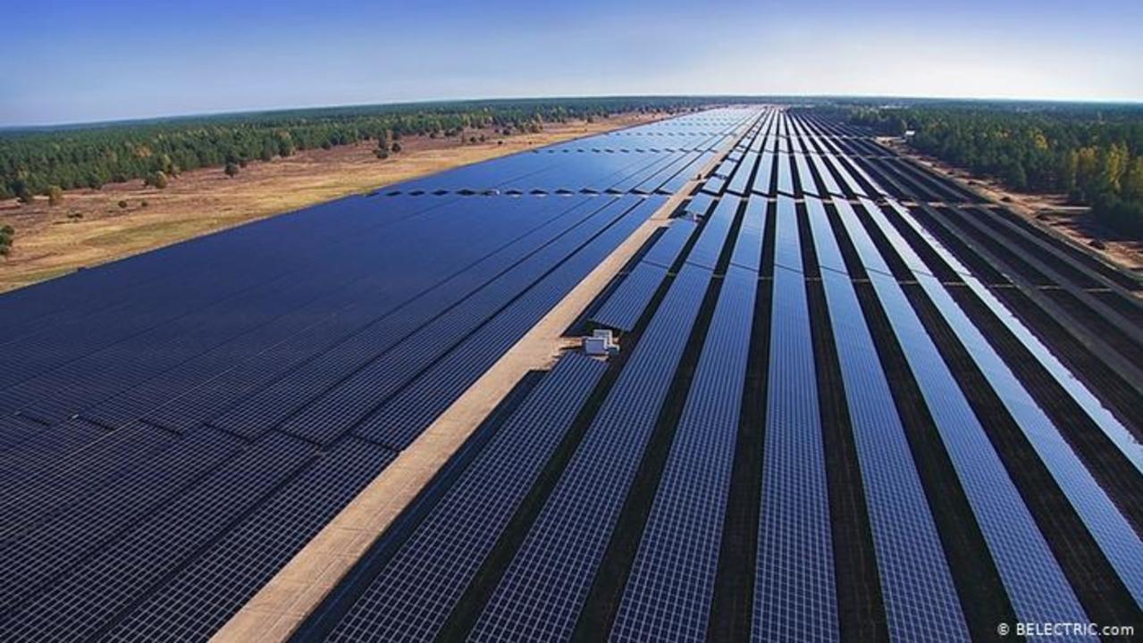 Energia solar - mineradora - carvão