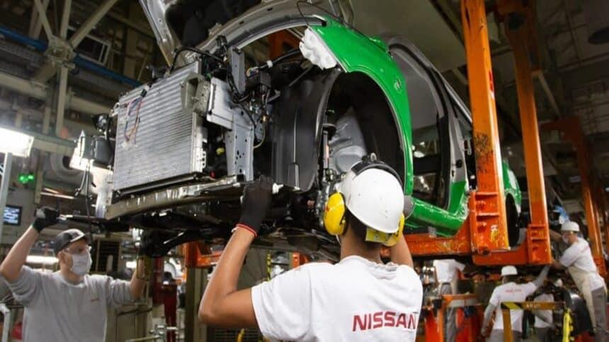 nissan - produção - fábrica - Chevrolet - Honda - Audi (Volkswagen) - Scania - Volvo - Mercedes-Benz