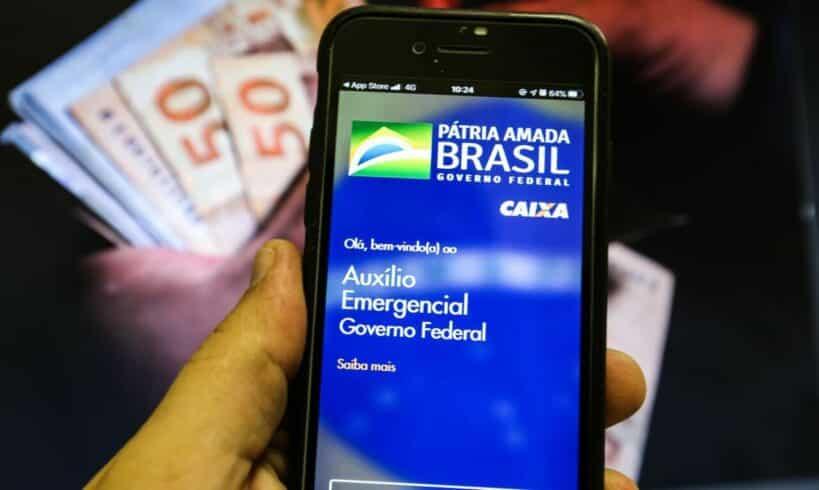 Auxilio emergencial - Governo federal - beneficio