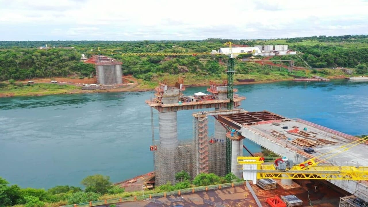 emprego - obras - usina - paraguaí - itaipu - brasil - ponte internacional