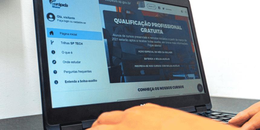Cursos gratuitos - SP - vagas - Prefeitura