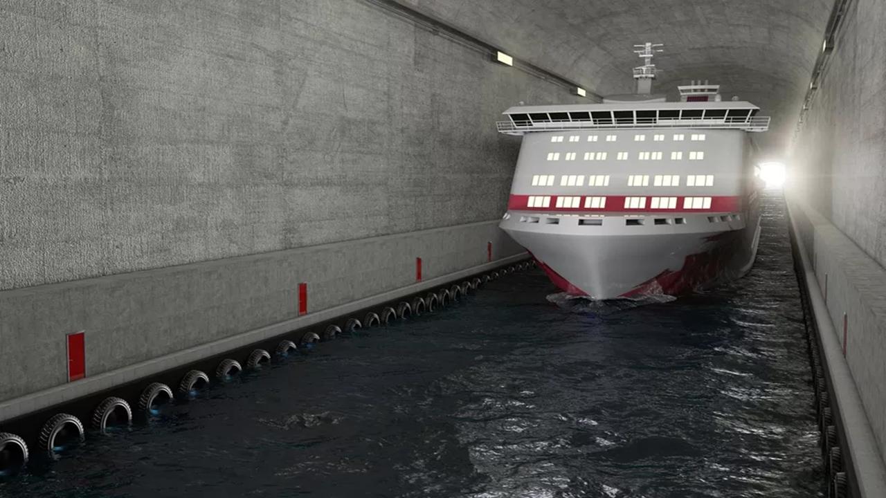 naviors - túnel - noruega