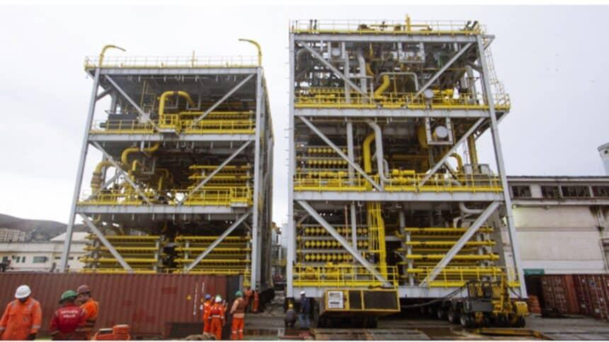petrobras - skids - remoção de co2 - plataformas de petróleo - P-72 - P-73