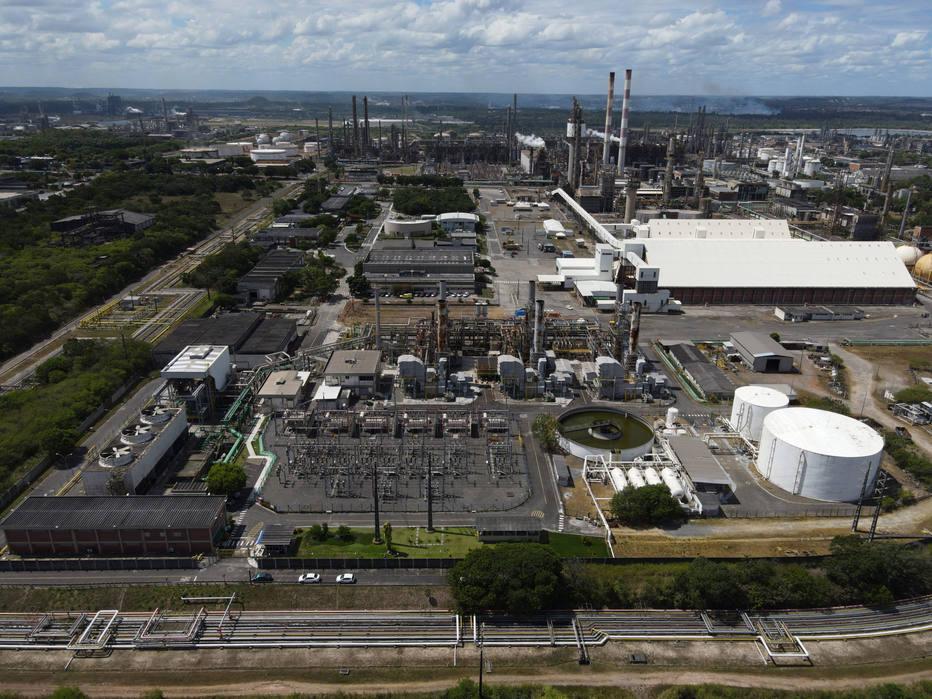 Usina termoelétrica, Petrobras, Bahia