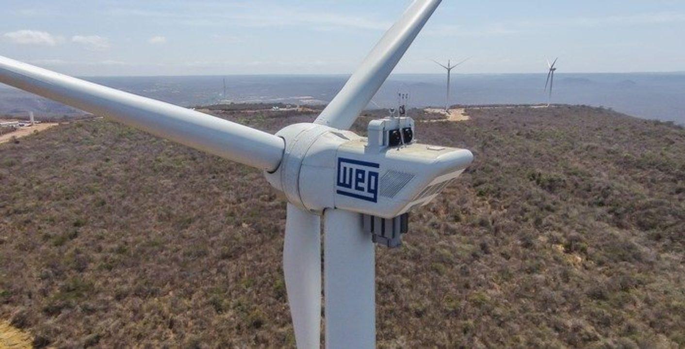 WEG - energia eólica - RN - aerogeradores