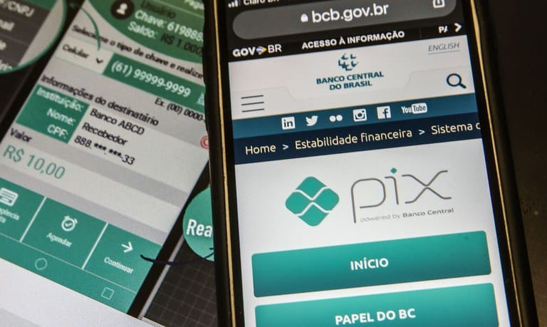 PIX - Banco Central - Ferramenta