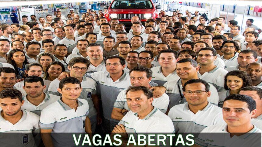 Jeep - vagas - emprego - são paulo - mg - df - pe - sem experiência - nível superior