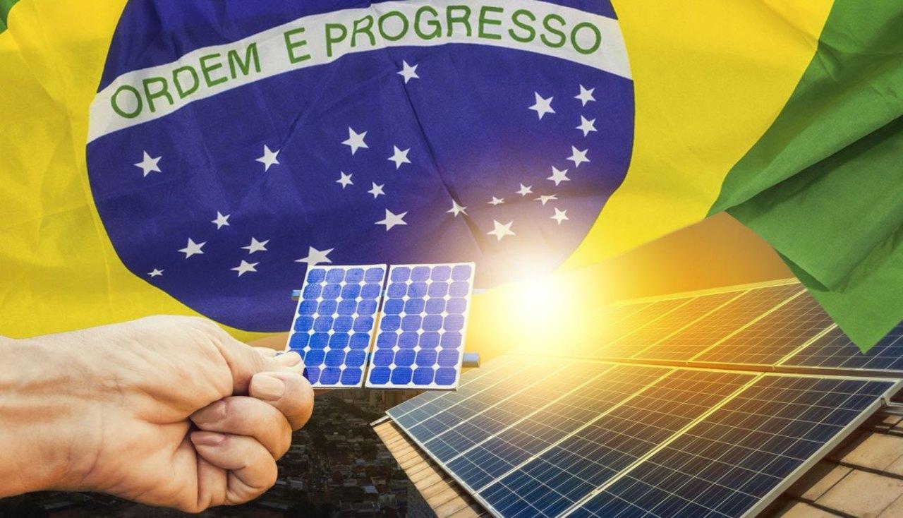 Energia renovável - energia solar - fotovoltaico