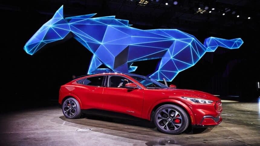 Mustang - Ford - carro elétrico - Mustang elétrico