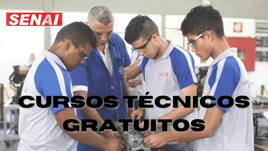 Cursos técnicos – Senai – logística – São Paulo