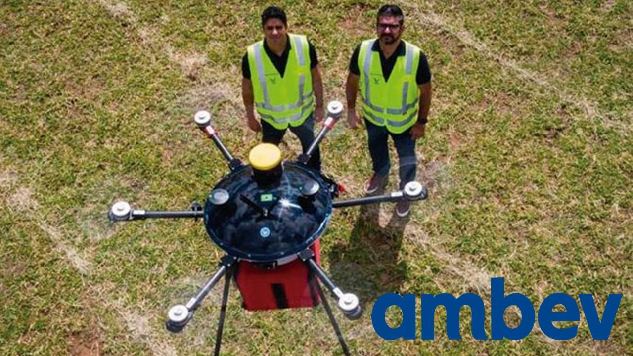 Ambev - bebidas - delivery -vagas - emprego - drone - fábrica