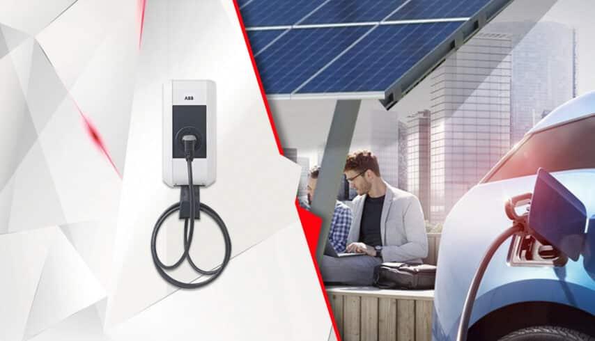 caros elétricos - eletropostos - energia solar
