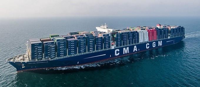 CMA CGM navio Argentina cabotagem
