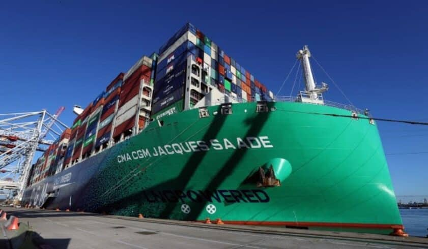 CMA CGM transporte marítimo biometano carbono navios