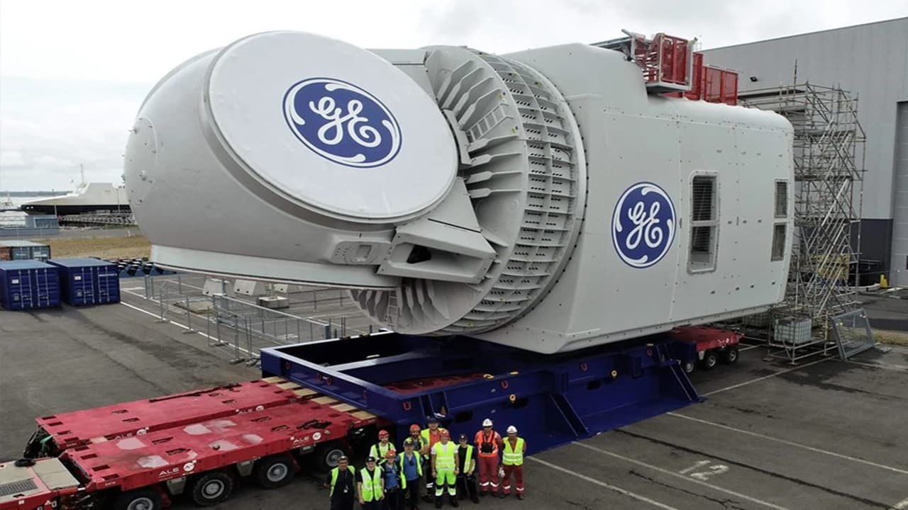turbina - General Electric - Renewable - usina - eólica offshore
