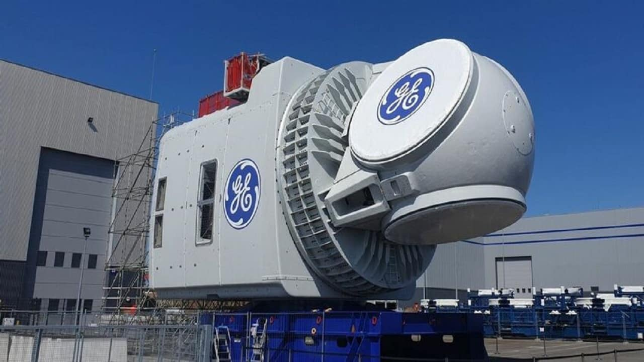 GE Renewable-Energy - energia eólica - offshore = turbina