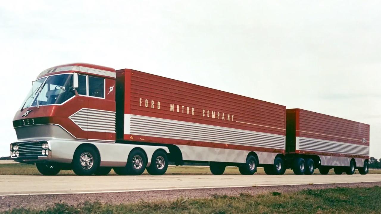 Ford - turbinas - caminhão - Big Red