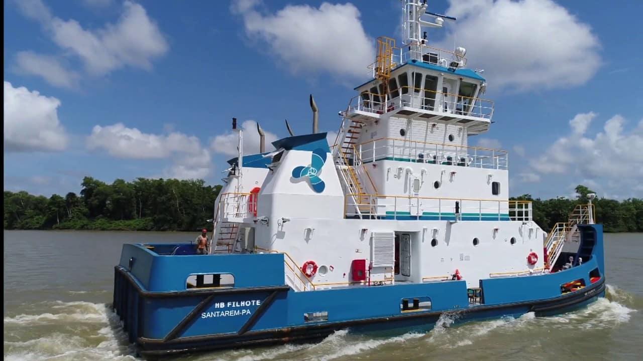 Bahia - navios - hidrovias - Estaleiro