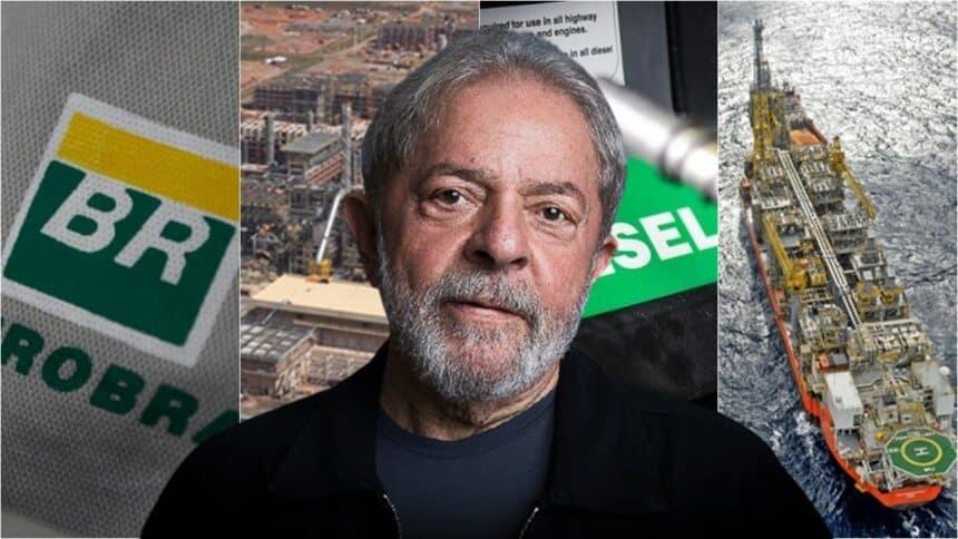 Lula Petrobras conbustíveis Comperj eleições 2022