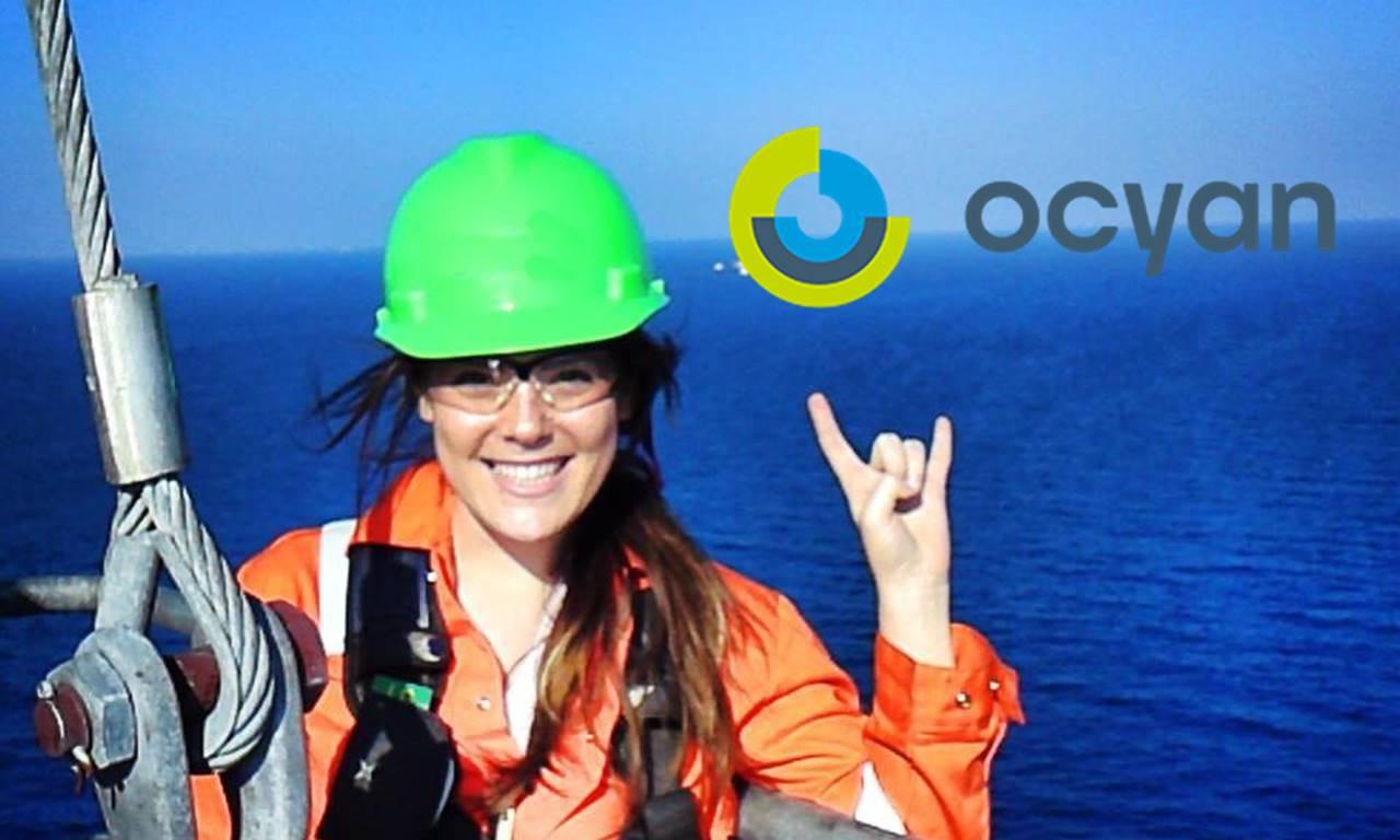 Mulheres Offshore Ocyan óleo e gás