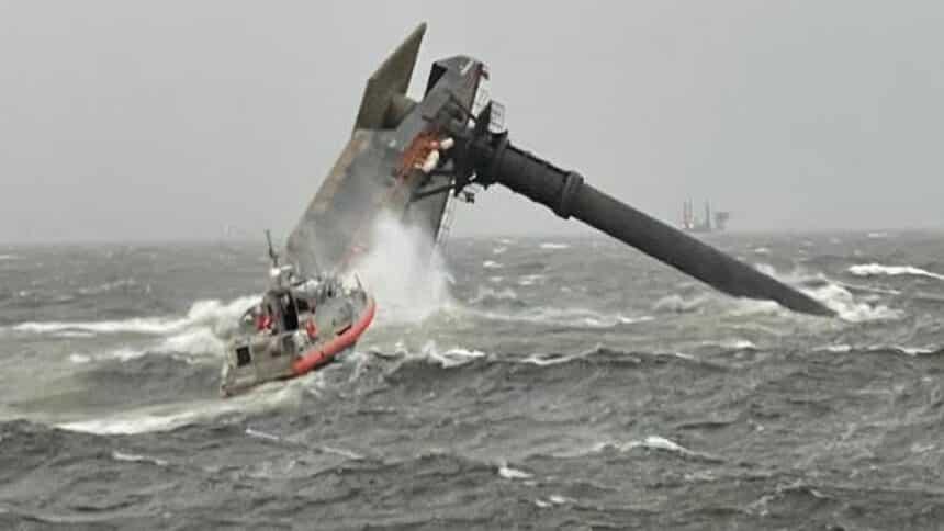 Navio - Tripulantes - Golfo do México