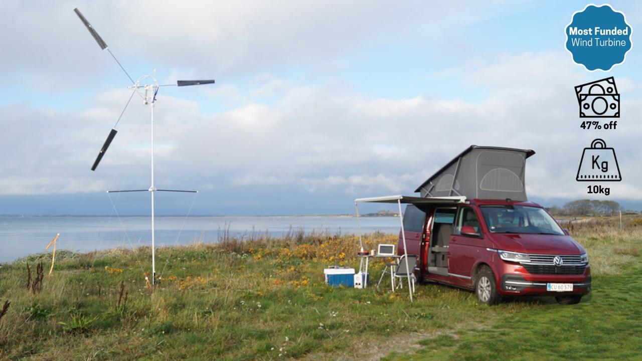 turbina - eólica - painéis solares -usina - energia renovável
