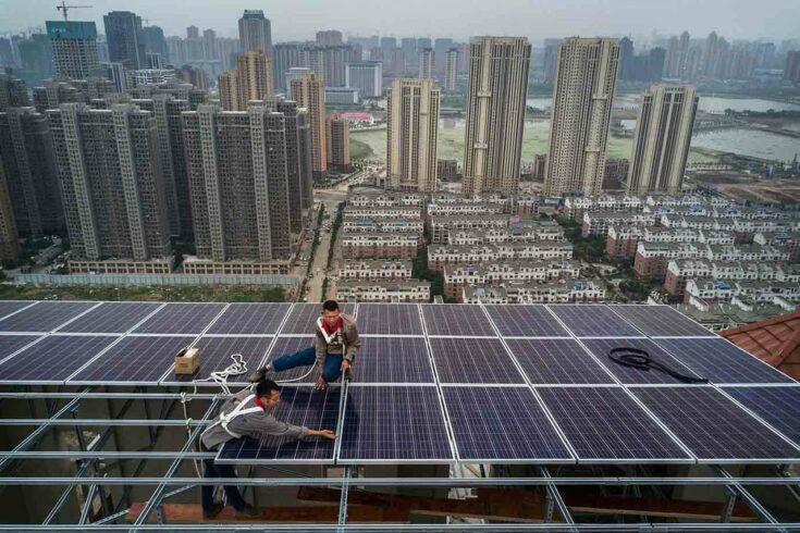 Covid-19 - energia solar - China